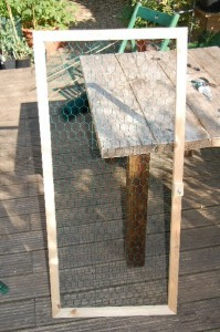 Save Our Earth Blog - The frame is almost complete